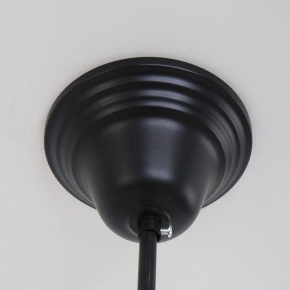 zwarte plafondplaat