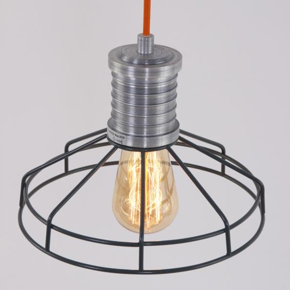 draadlamp grijs