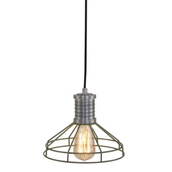 groene hanglamp wire-o
