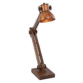 houten bureaulampen