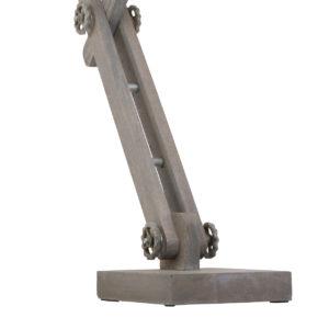 tafellamp zilver