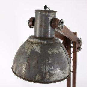 vintage lamp hout
