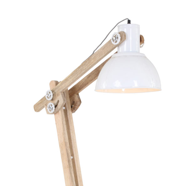 witte vloerlamp