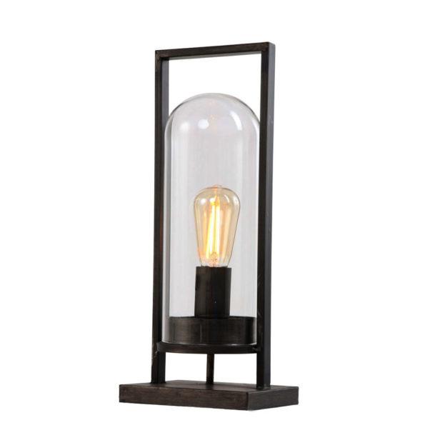zwarte tafellamp