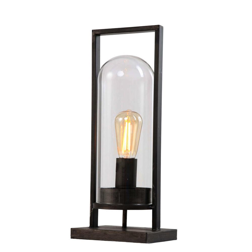 Tafellampje stijn zwart industriele lampen online for Lamp industrieel