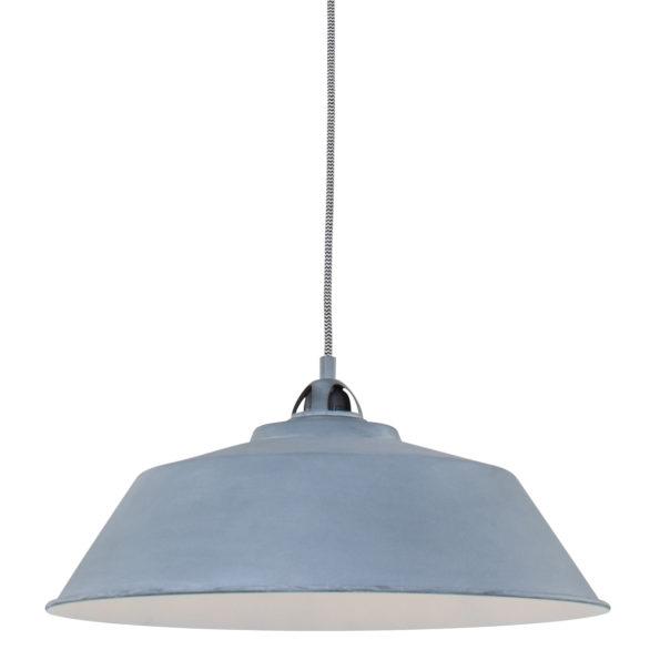 Industriële hanglamp Ivy grijs-1318GR
