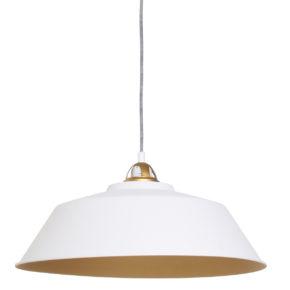Industriële hanglamp Ivy wit-1318W