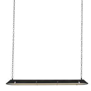 Industriële hanglamp Tubular zwart-1571ZW