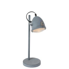 Industriële tafellamp Paco grijs-1575GR