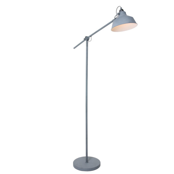 Industriële vloerlamp Ivy grijs-1322GR