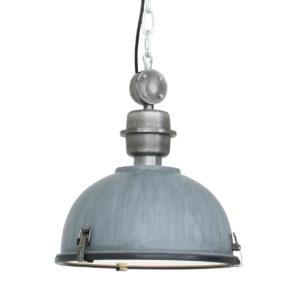 Metalen hanglamp Bikkel grijs-7978GR