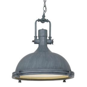 Metalen hanglamp Eliga grijs-7636GR
