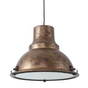 Metalen hanglamp Parade bruin-5798B