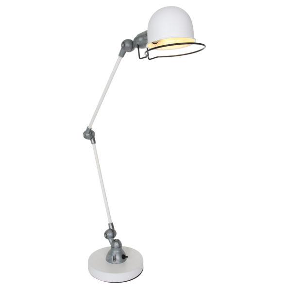 Metalen tafellamp Jikke wit-7655W