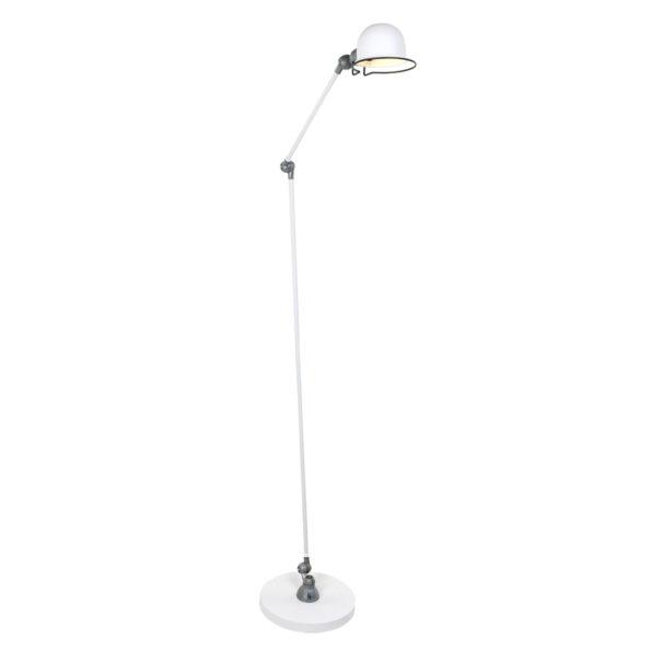 Metalen vloerlamp Jikke wit-7658W